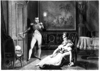Napoléon annonce son intention de divorcer à Joséphine (1809)