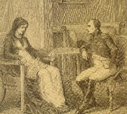 L'Empereur Napoléon (1769-1821) et Madame Mère (1750-1836)