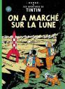 On a Marché sur la Lune - Tintin et Milou - Hergé.