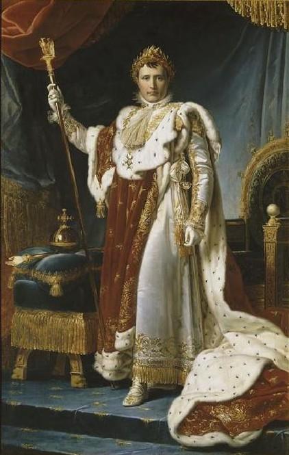 Napoléon Ier (1769-1821) en costume de sacre par le baron François Pascal Simon Gérard