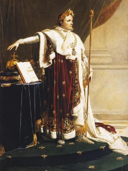 Napoléon Ier (1769-1821) en tenue de sacre par Anne-Louis Girodet deRoussy-Trioson